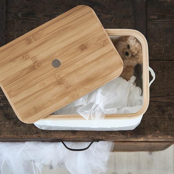 雷布拉 附盖储物盒 25 厘米 35 厘米 20 厘米