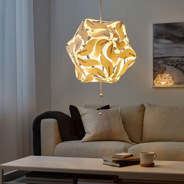 拉姆塞 吊灯 花/白色 16 瓦特 62 厘米 43 厘米 1.4 米