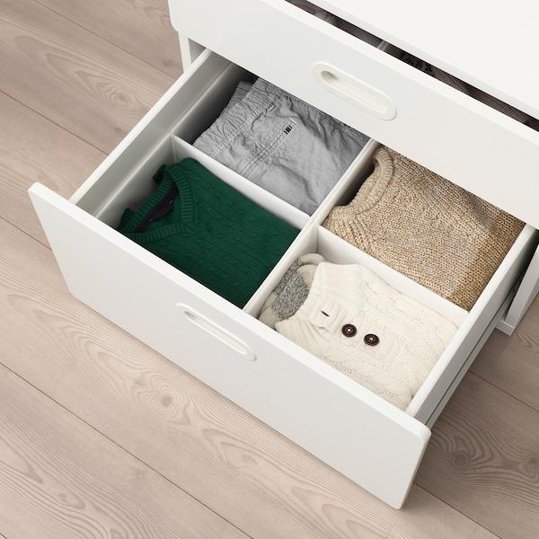 IKEA 拉斯拉 带格储物盒