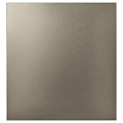 RIKSVIKEN 雷克维肯 柜门, 浅色青铜效果, 60x64 厘米