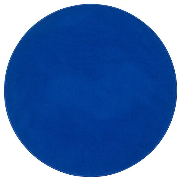 里斯歌德 短绒地毯 蓝色 70 厘米 1110 克/平方米 450 克/平方米 6 毫米 0.38 平方米