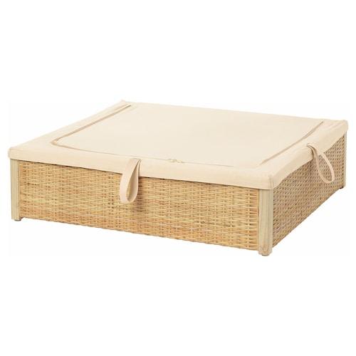 罗姆斯古 床用储物盒 藤条 16 厘米 65 厘米 70 厘米 19 厘米 61 厘米 66 厘米