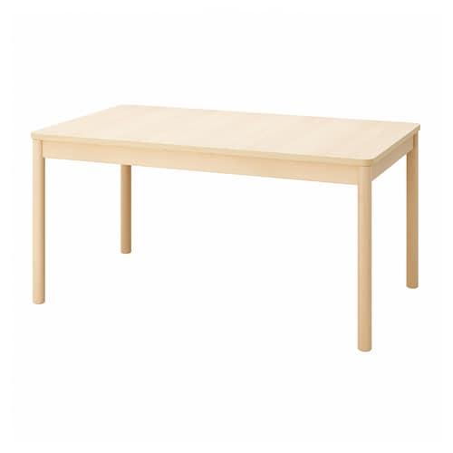瑞宁 伸缩型餐桌 桦木 155 厘米 210 厘米 90 厘米 75 厘米