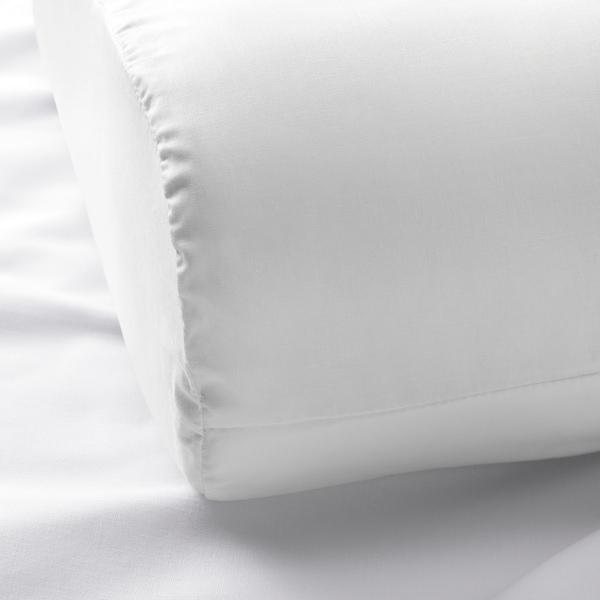 洛森浣 人体工程学枕头套 白色 200 Inch² 33 厘米 50 厘米