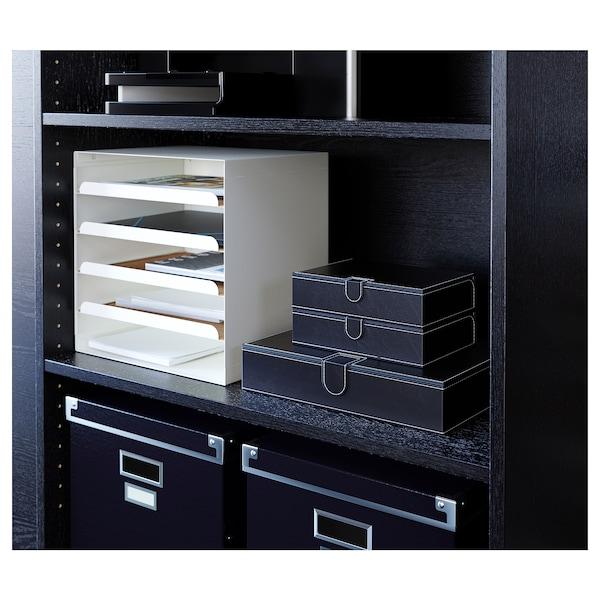 瑞斯拉 文件盒,三件套, 黑色