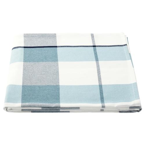 鲁迪 桌布 方格图案 蓝色 240 厘米 145 厘米