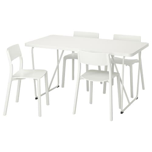 IKEA 瑞贝克/巴克瑞 / 延宁 一桌四椅