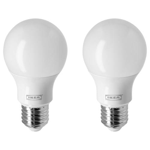 里耶 LED灯泡 E27 806流明 球形/乳白色 2700 开尔文 806 流明 60 毫米 7.7 瓦特 2 件