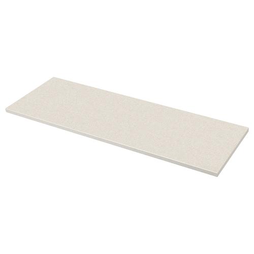 萨林 操作台面, 白色 仿石材/层压板, 246x3.8 厘米