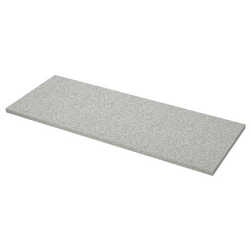 萨林 操作台面, 淡灰色 仿矿石/层压板, 246x3.8 厘米