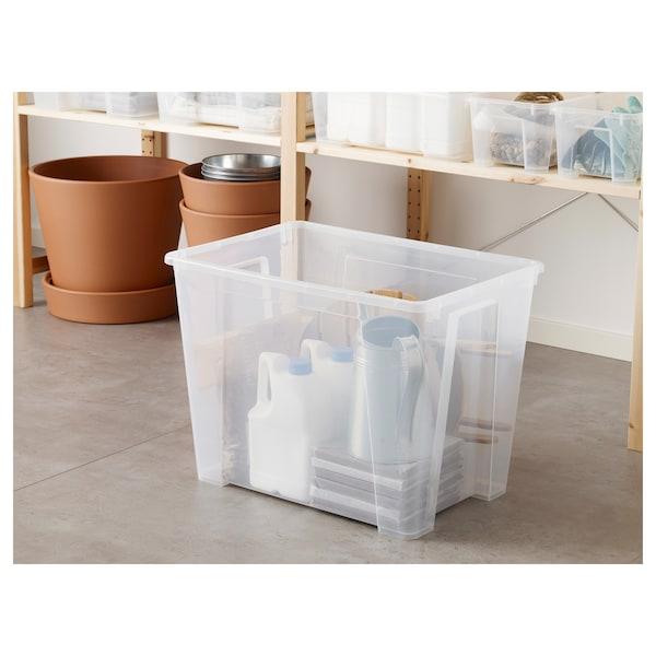 萨姆拉 盒子, 透明, 56x39x42 厘米/65 公升