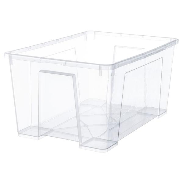 萨姆拉 盒子, 透明, 56x39x28 厘米/45 公升