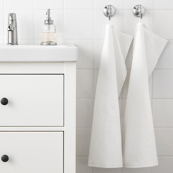 萨维肯 毛巾, 白色, 40x70 厘米