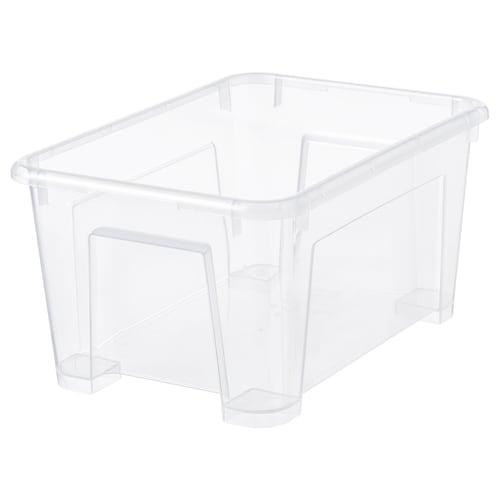 萨姆拉 盒子 透明 28 厘米 19 厘米 14 厘米 5 公升