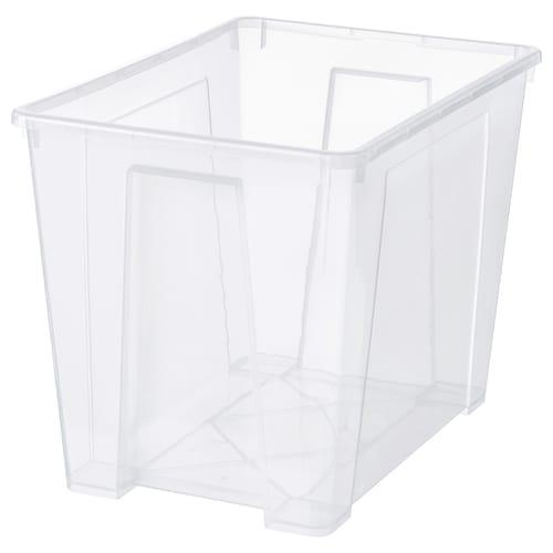 萨姆拉 盒子 透明 56 厘米 39 厘米 42 厘米 65 公升