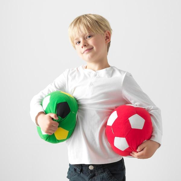 斯巴卡 毛绒玩具, 足球/绿色