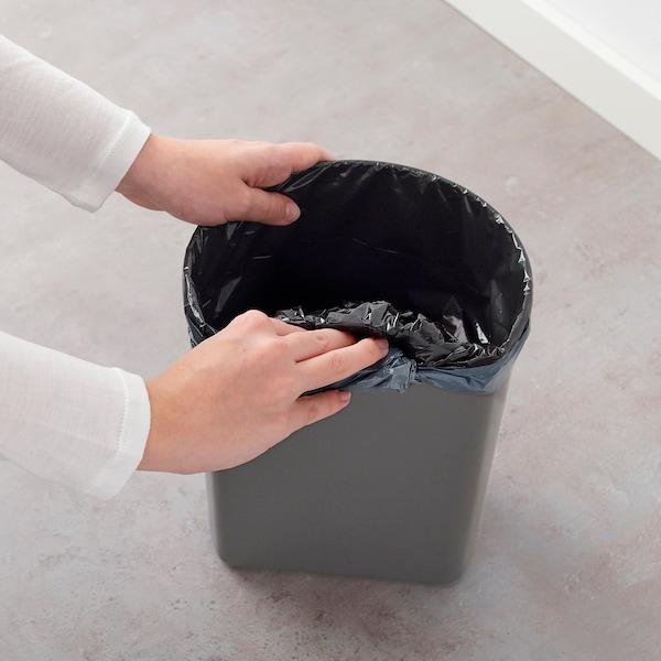 思纳普 踏板式垃圾桶, 蓝色, 5 公升
