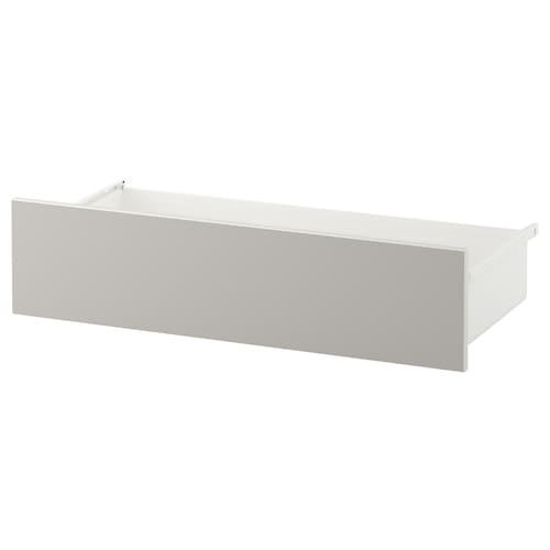 斯卡特沃 抽屉, 白色/淡灰色, 80x42x20 厘米