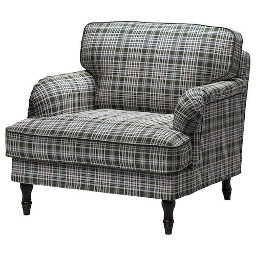 斯托桑 单人沙发/扶手椅, 西格塔 多色/黑色/原木色