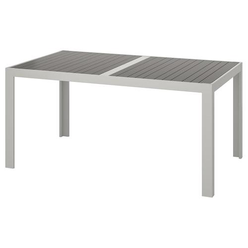 索兰德 桌子,户外 深灰色/淡灰色 156 厘米 90 厘米 73 厘米