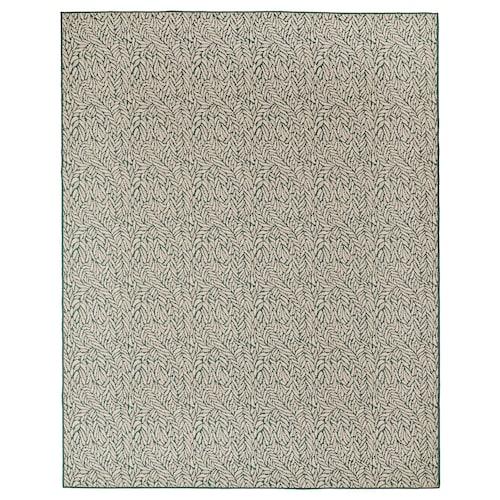 希耶隆德 平织地毯,室内/户外 米绿色 250 厘米 200 厘米 4 毫米 5.00 平方米 1295 克/平方米