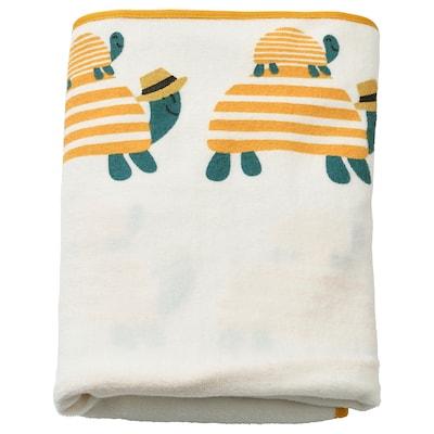 SKÖTSAM 可颂 婴儿护理垫套, 海龟, 83x55 厘米