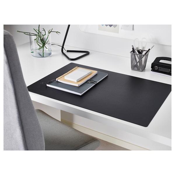 SKRUTT 斯克鲁特 书桌垫, 黑色, 65x45 厘米