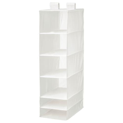 思库布 6格储物单元 白色 35 厘米 45 厘米 125 厘米