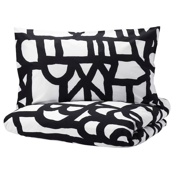 IKEA 斯库布莱 被套和2个枕套