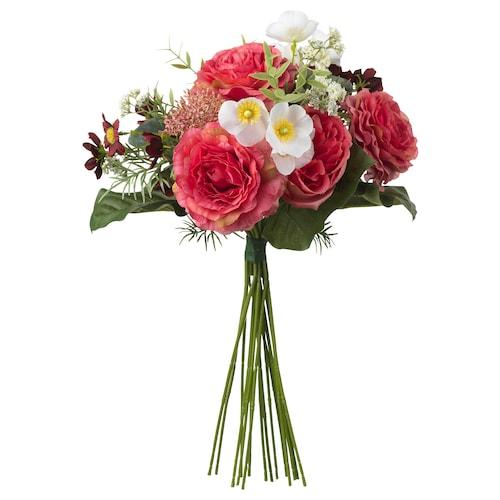 思米加 人造花束 深粉色 50 厘米