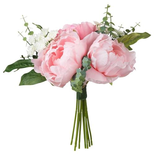 思米加 人造花束 粉红色 25 厘米