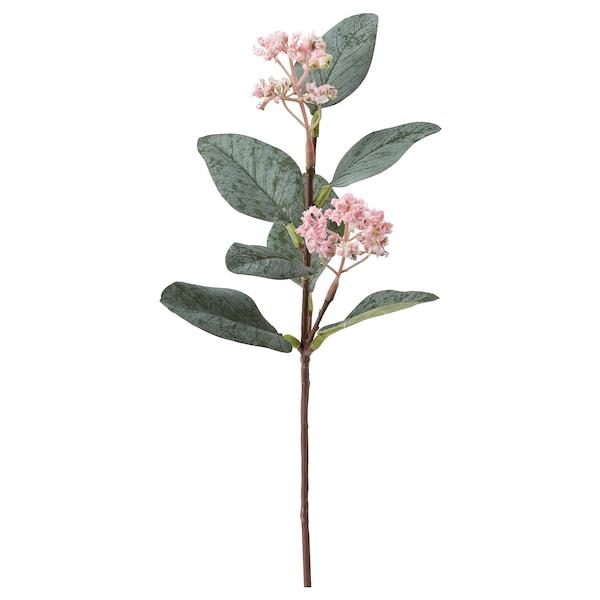思米加 人造花 桉树/粉红色 30 厘米