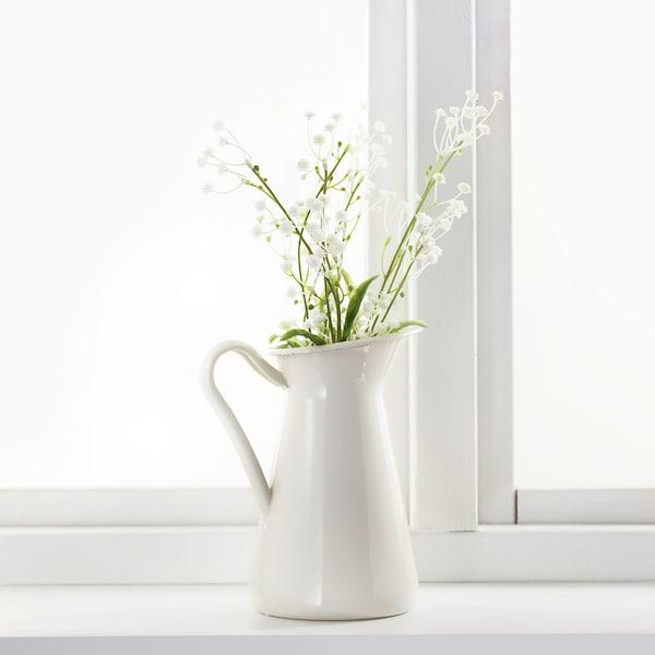 思米加 人造花 满天星/白色 60 厘米