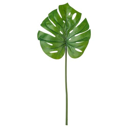 思米加 人造枝叶 龟背竹/绿色 80 厘米