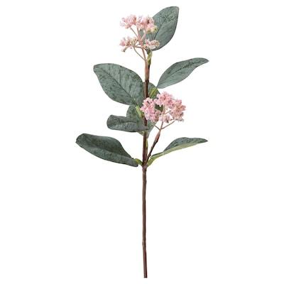 SMYCKA 思米加 人造花, 桉树/粉红色, 30 厘米