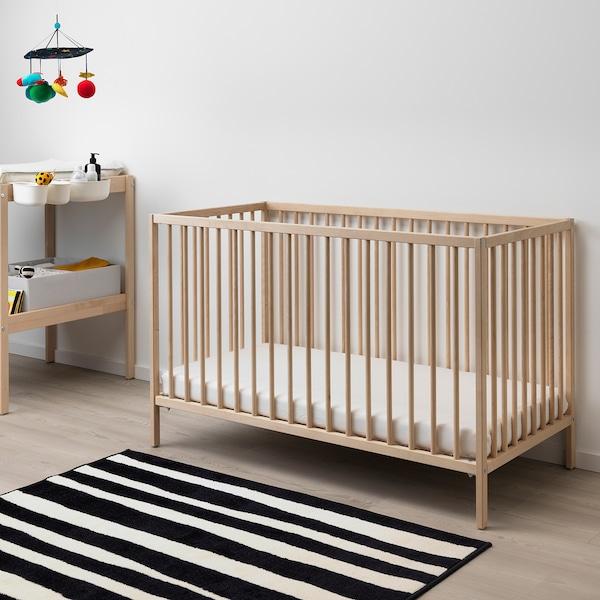 辛格莱 婴儿床 桦木 123 厘米 66 厘米 80 厘米 60 厘米 120 厘米 20 公斤