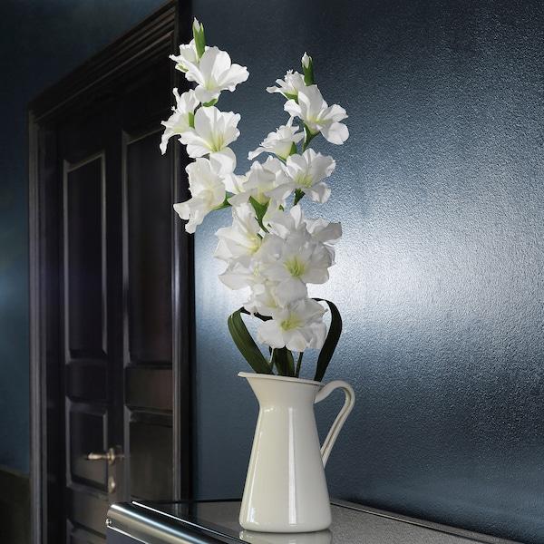 索克拉 花瓶 白色 22 厘米 1.4 公升