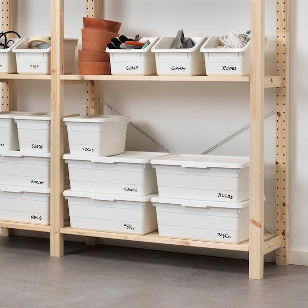 SOCKERBIT 索克比 盒, 白色, 19x26x15 厘米