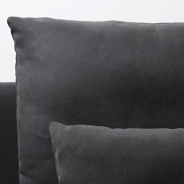 索德汉 双人沙发 带贵妃椅/萨斯塔 深灰色 83 厘米 69 厘米 151 厘米 186 厘米 99 厘米 122 厘米 14 厘米 70 厘米 39 厘米