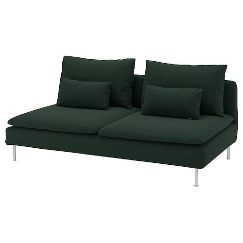 索德汉 三人座 塔米拉 深绿色 186 厘米 99 厘米 83 厘米 186 厘米 48 厘米 40 厘米