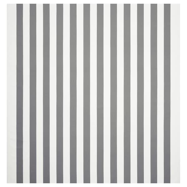 索菲亚 布料 宽条纹/白色/灰色 280 克/平方米 150 厘米 1.50 平方米