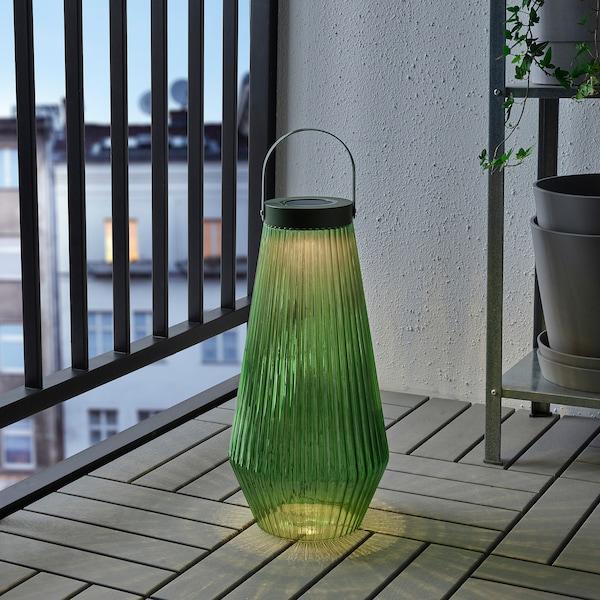 索文顿 LED太阳能落地灯 户外产品/玻璃 绿色 21 厘米 42 厘米
