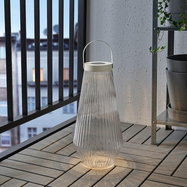 索文顿 LED太阳能落地灯 户外产品/透明玻璃 2 流明 21 厘米 42 厘米