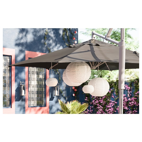 索文顿 LED太阳能吊灯 户外产品/球形 白色 3 流明 22 厘米 19 厘米 19 厘米
