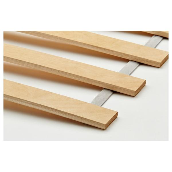 松耶桑德 床框架带2个储物盒 白色/鲁瑞 14 厘米 207 厘米 163 厘米 56 厘米 64 厘米 41 厘米 95 厘米 200 厘米 150 厘米