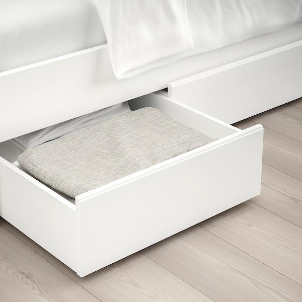 松耶桑德 床架带4储物盒 白色/鲁瑞 14 厘米 207 厘米 163 厘米 56 厘米 64 厘米 41 厘米 95 厘米 200 厘米 150 厘米