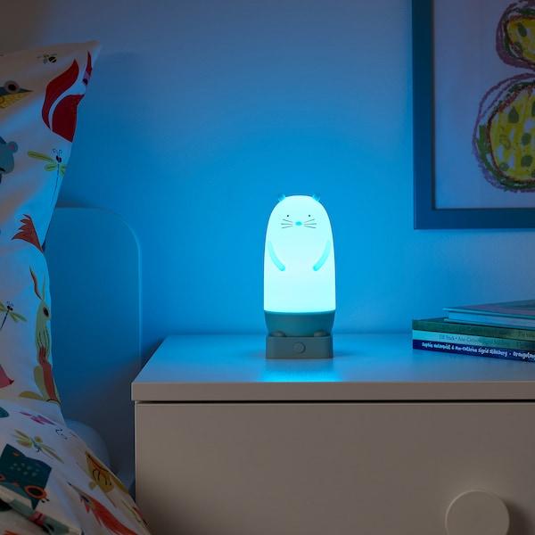 SPIKEN 斯匹肯 LED夜灯, 水獭造型 电池操作/多色, 15 厘米