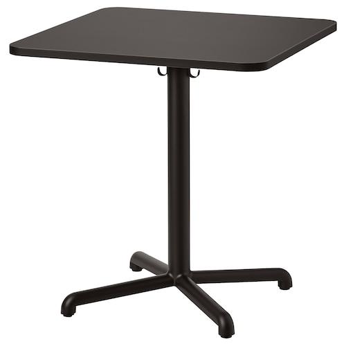 思丹塞 桌子 煤黑色/煤黑色 70 厘米 70 厘米 75 厘米