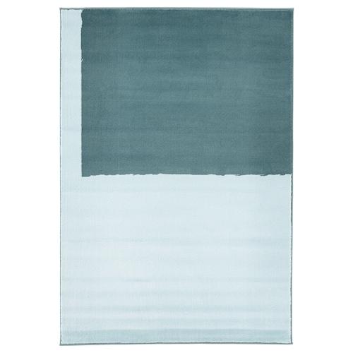 思第本 短绒地毯 蓝色 195 厘米 133 厘米 13 毫米 2.59 平方米 2050 克/平方米 700 克/平方米 10 毫米 10 毫米