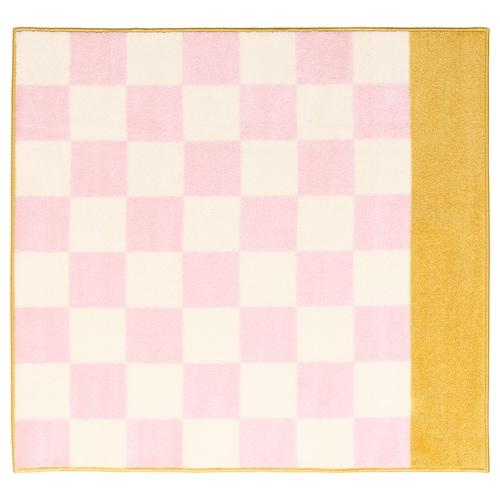 斯蒂尔桑 长绒地毯 粉红色 140 厘米 133 厘米